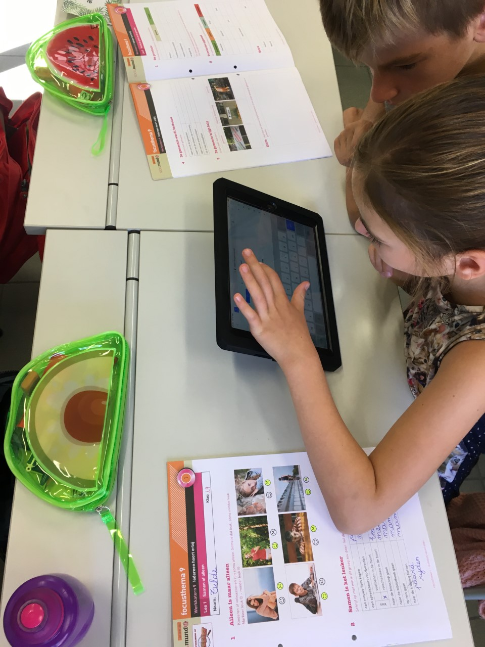 iPads in de klas